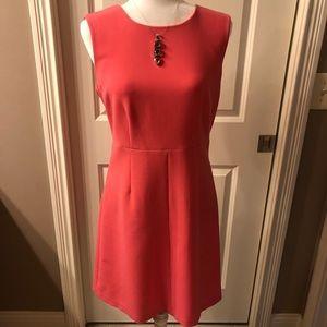 DVF dress in pink